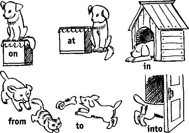 предлоги английский