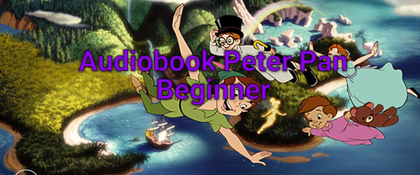 Audiobook Peter Pan Beginner