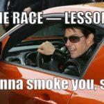 HOGE УРОК THE RACE