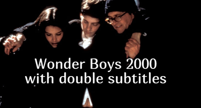 Wonder Boys with double subtitles 2000